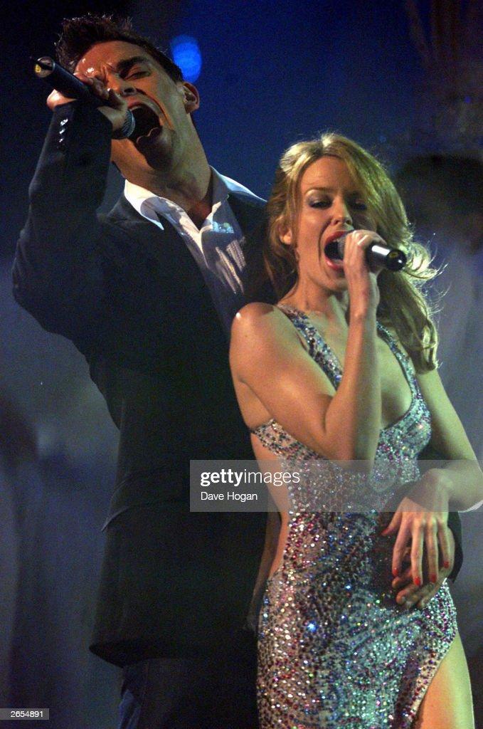 Robbie Williams and Kylie Minogue  : Foto di attualità