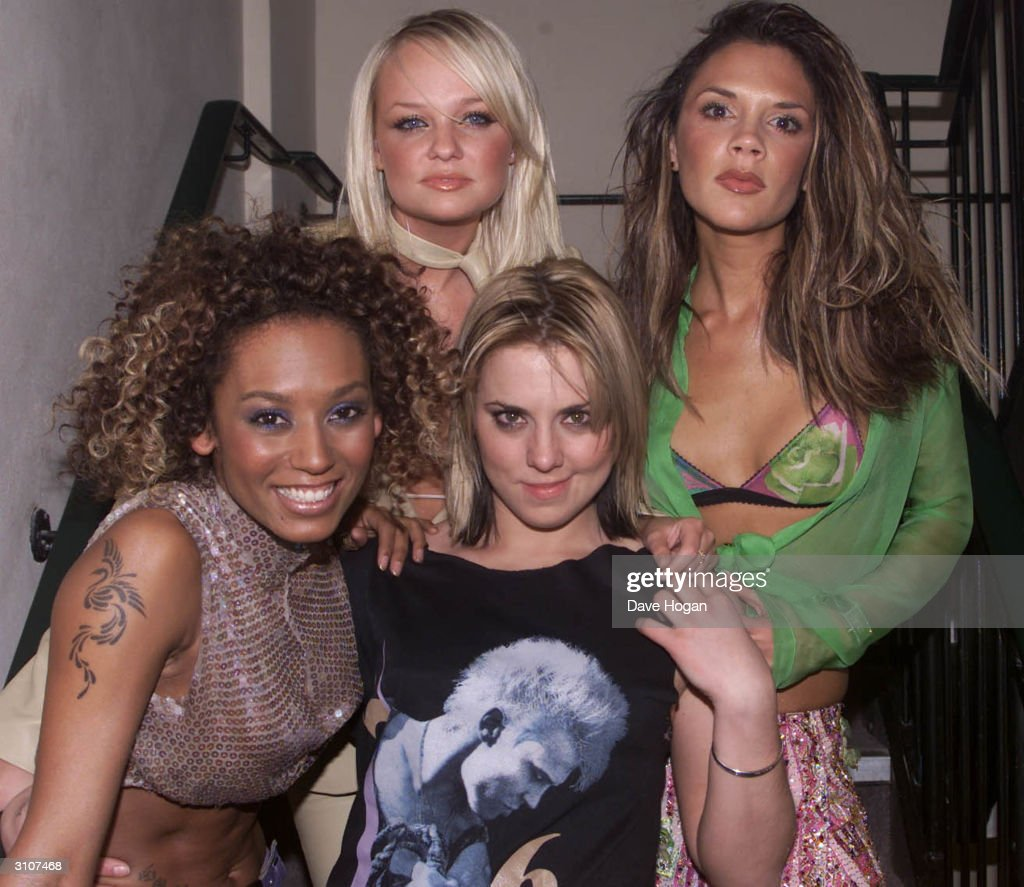 Mel B, Emma Bunton, Mel C and Victoria Beckham : News Photo