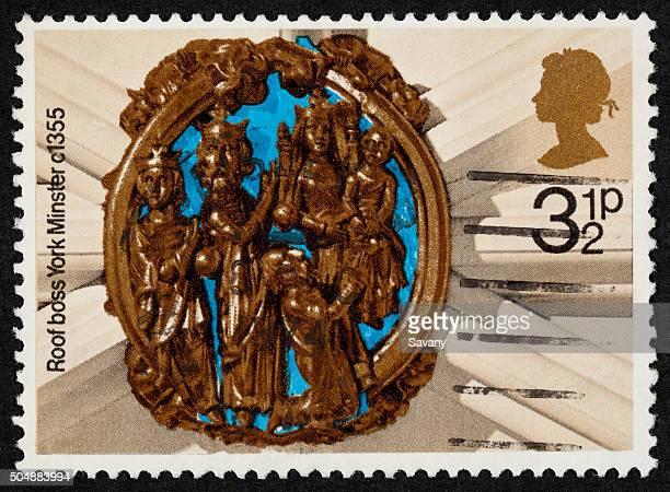British sello postal