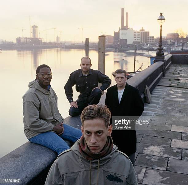 British postpunk band A Certain Ratio 28th October 1986