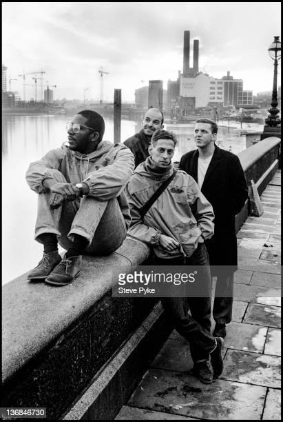 British postpunk group A Certain Ratio Chelsea London 28th October 1986