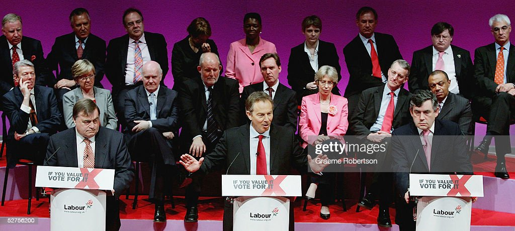 Labour Party During The Final Day Of Election Campaigning : News Photo