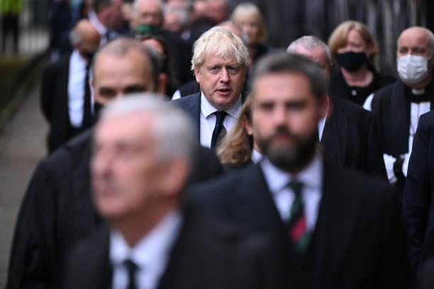 GBR: MPs Attend Memorial Service For Sir David Amess At St Margaret's Church