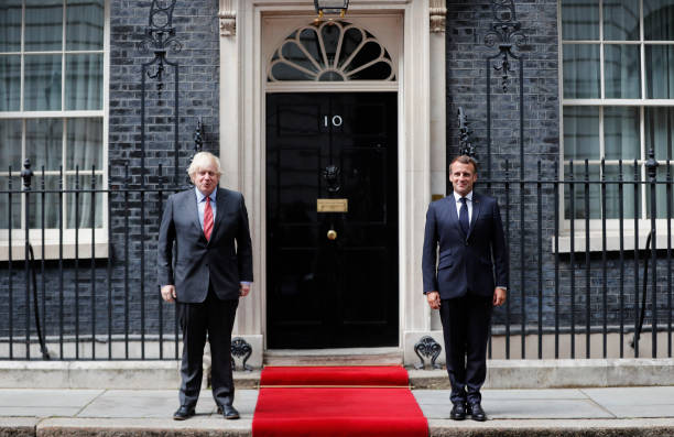 GBR: President Macron Visits The UK To Commemorate 80th Anniversary Of  The Appeal of The 18th June Speech.