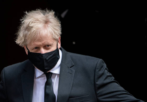 GBR: Boris Johnson Attends First PMQs After Easter Recess