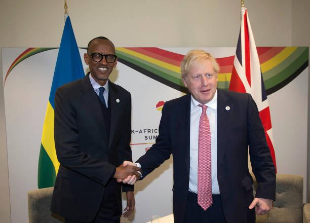 GBR: Prime Minister Boris Johnson Hosts UK-Africa Investment Summit