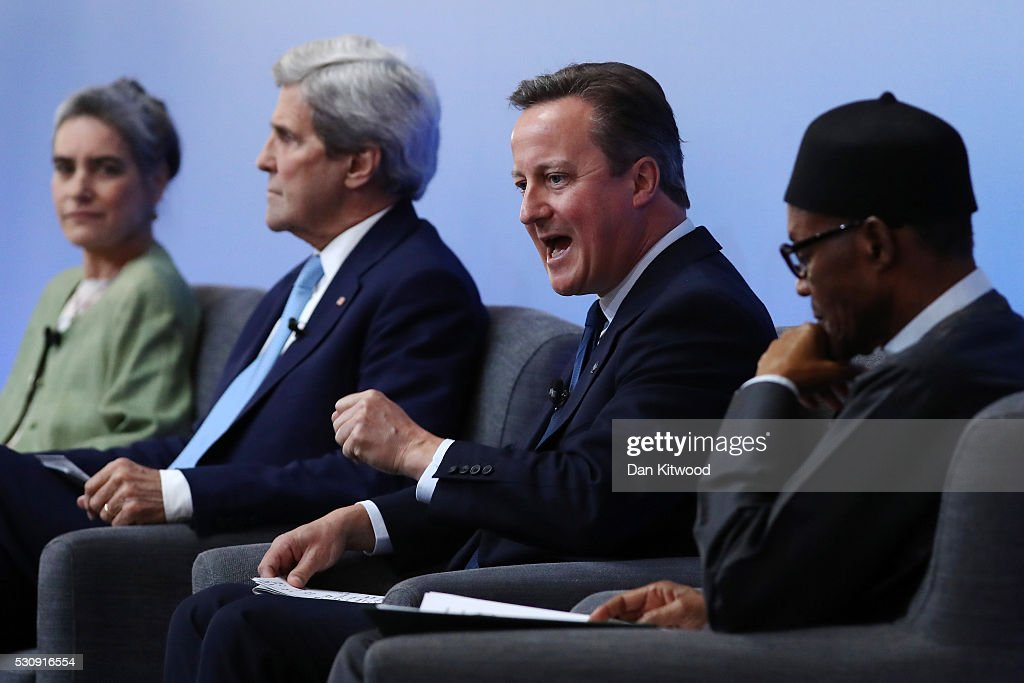 Prime Minister David Cameron Hosts Anti-Corruption Summit