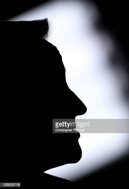 British Prime Minister David Cameron addresses guests at Manchester Central on August 10, 2010 in Manchester, England. The Prime Minister unveiled a...