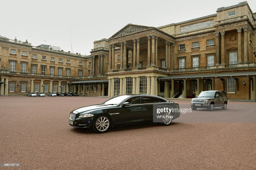 David Cameron Visits The Queen To Request The Dissolution Of Parliament : News Photo