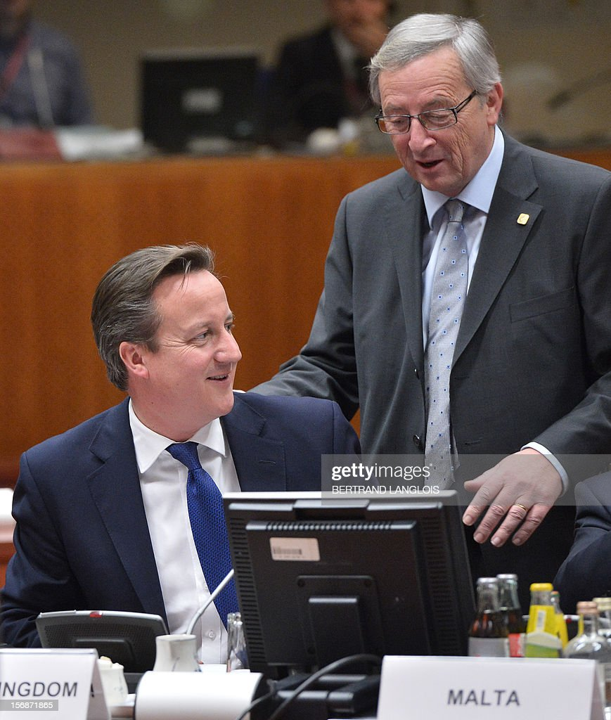 BELGIUM-POLITICS-FINANCE-EU-BUDGET-SUMMIT : News Photo