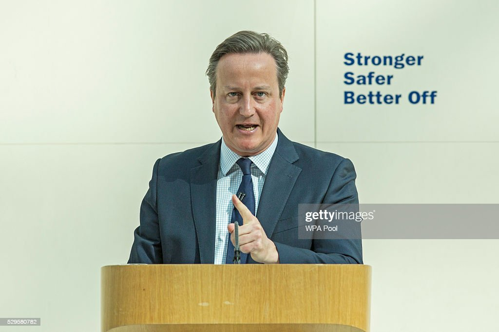David Cameron Delivers EU Speech