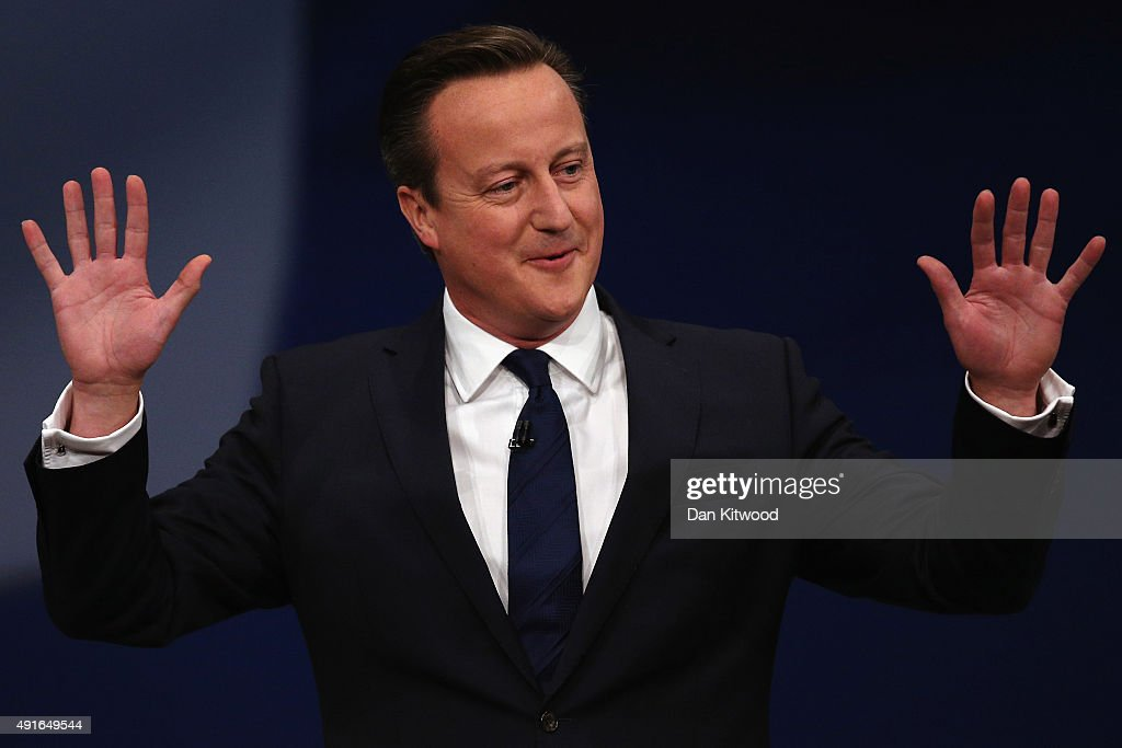 David Cameron Addresses The 2015 Conservative Party Autumn Conference