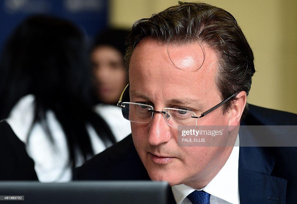 BRITAIN-POLITICS-EXTREMISM : News Photo