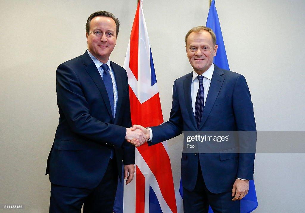 European Leaders Gather In Brussels For EU Crunch Summit