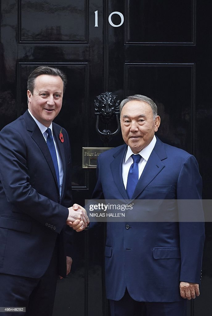 BRITAIN-KAZAKHSTAN-POLITICS-DIPLOMACY : News Photo