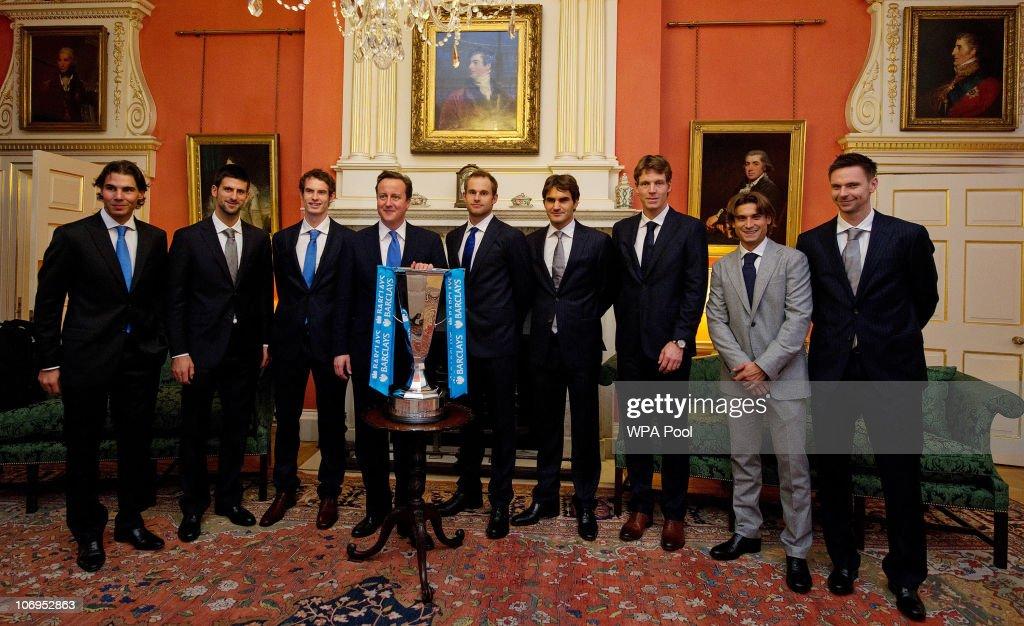 Prime Minister David Cameron Meets ATP Tour Tennis Players