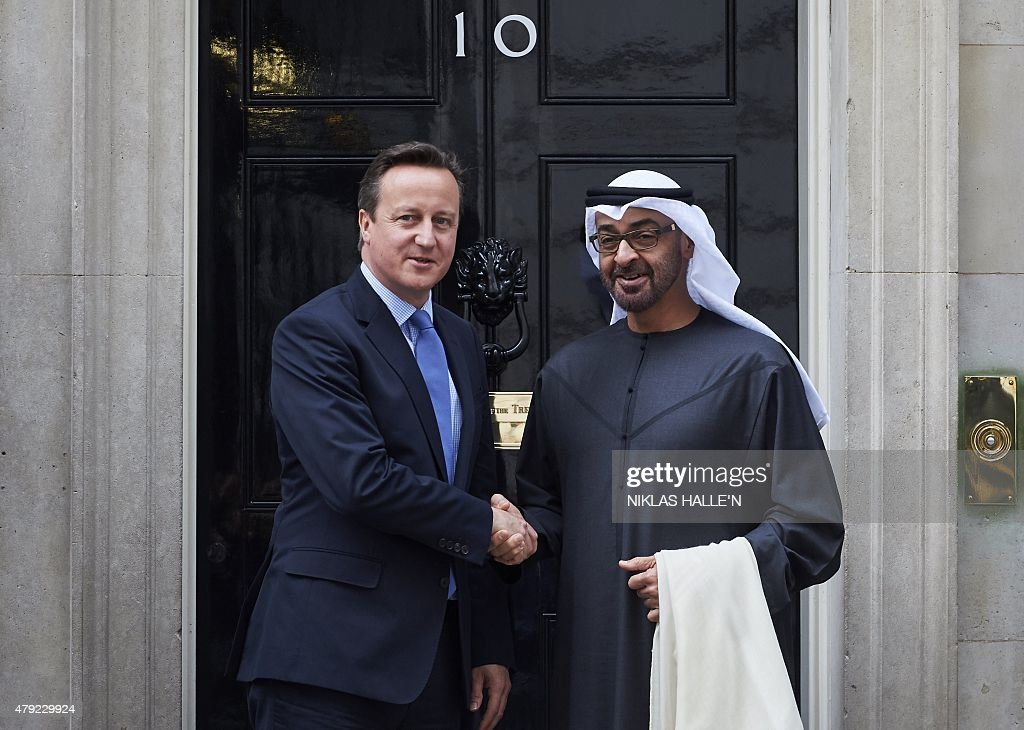BRITAIN-UAE-DIPLOMACY : News Photo