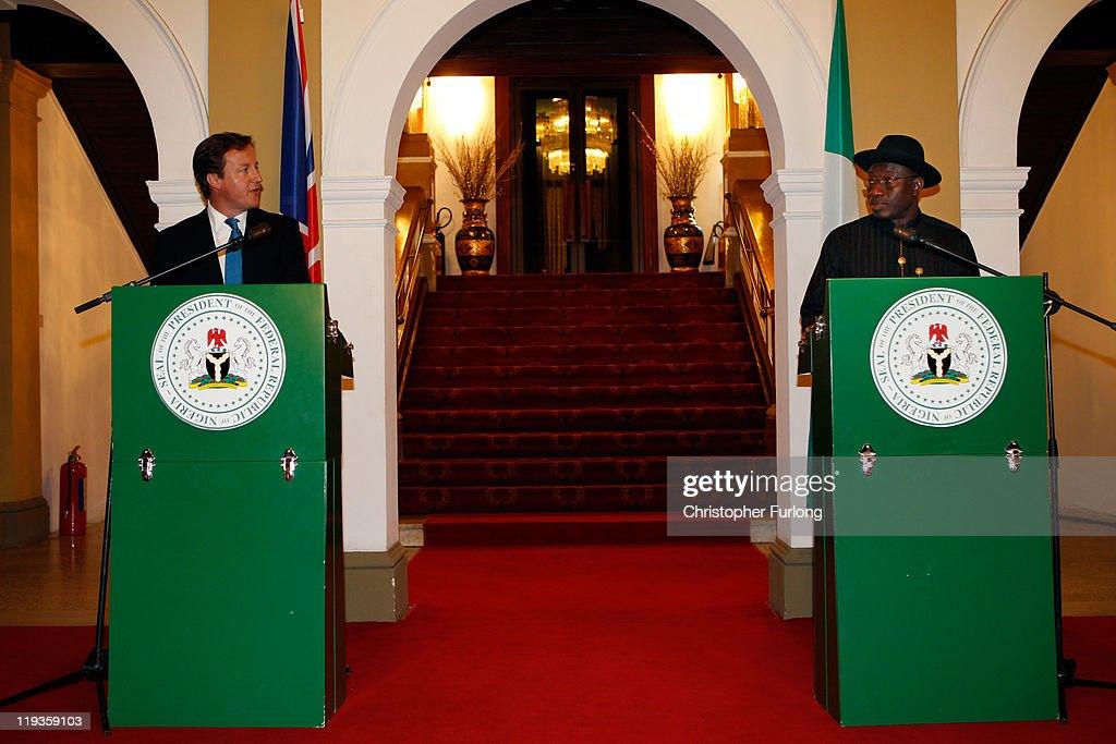 Prime Minister David Cameron Visits Nigeria