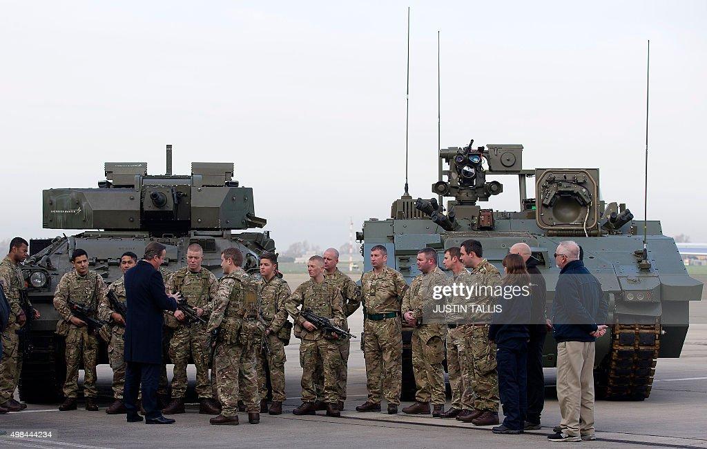 BRITAIN-POLITICS-DEFENCE-MILITARY-SDSR : News Photo