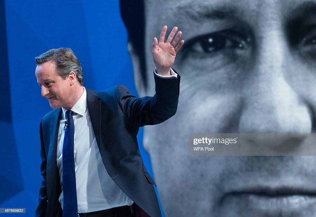 David Cameron & Ed Miliband Take Part In TV Q&A : News Photo
