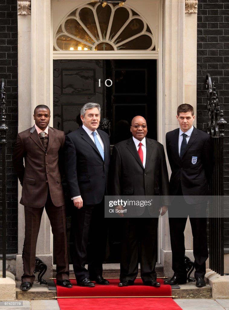 The President Of The Republic Of South Africa Makes A State Visit To The UK