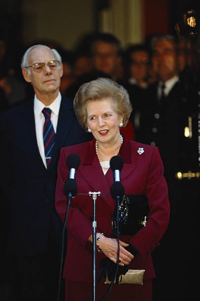 Image result for british prime minister margaret thatcher resigns