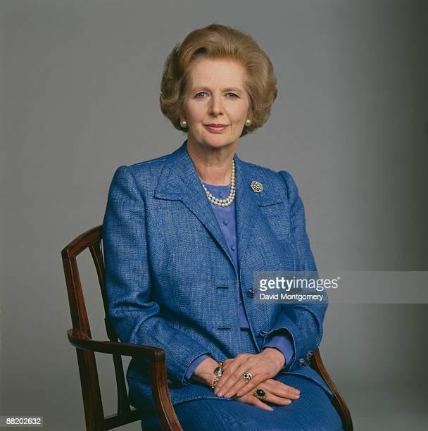 British Prime Minister Margaret Thatcher circa 1985