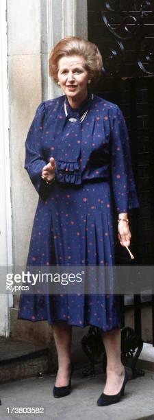 British Prime Minister Margaret Thatcher , circa 1990.