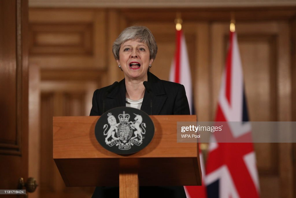 GBR: Theresa May Speaks To The Nation After Asking EU For Brexit Extension