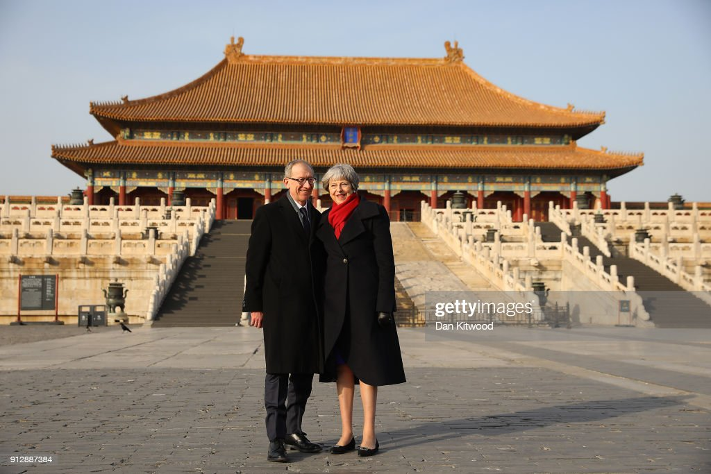 British Prime Minister China Visit - Day Two