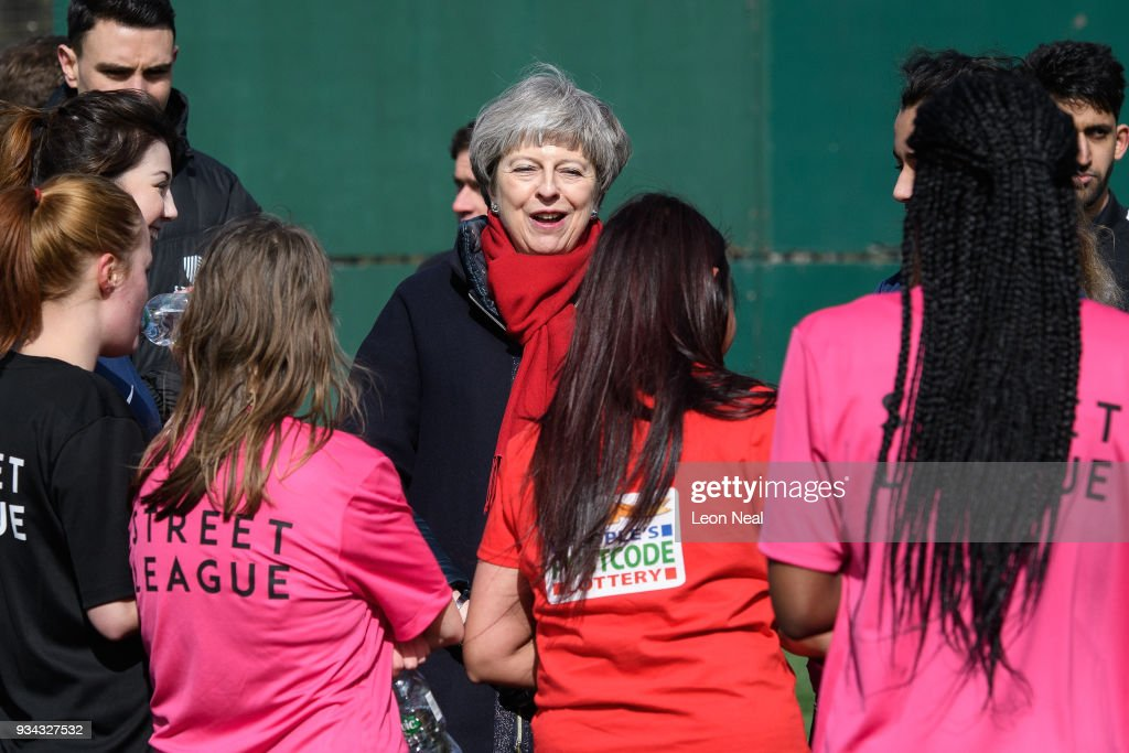 The Prime Minister Visits An Employment Charity In The Midlands