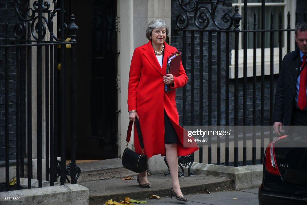 UK Budget Day 2017 : News Photo