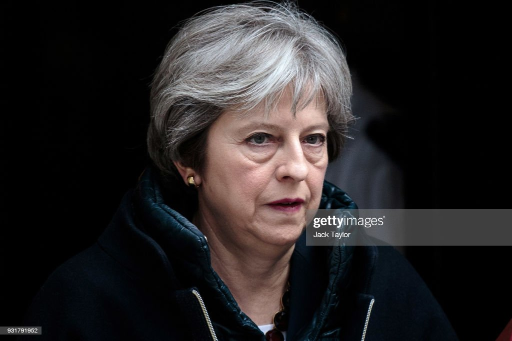 Theresa May To Give Statement On Russia To The House After PMQs