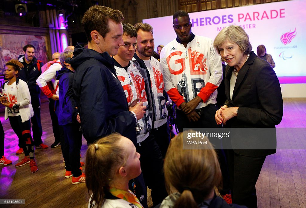 The Prime Minister Meets Olympians And Paralympians After Their Victory Parade