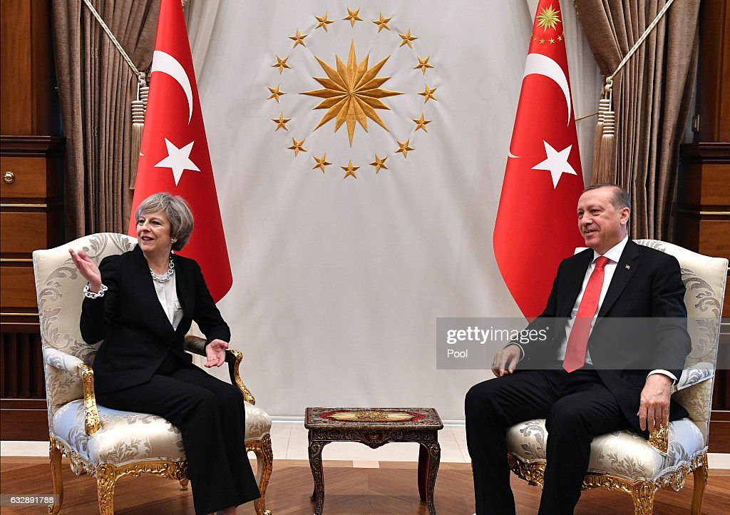 British Prime Minister Visits Turkey