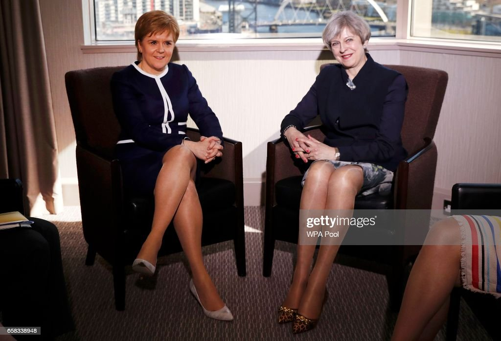 Theresa May Visits Scotland Ahead Of Triggering Article 50 Later This Week