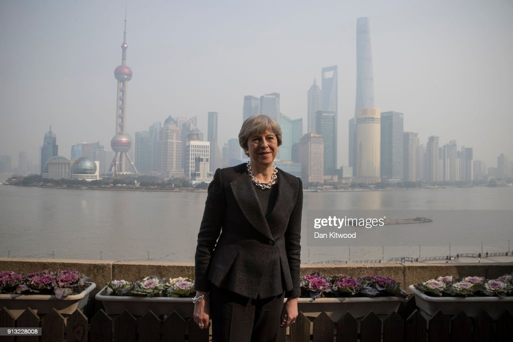 British Prime Minister China Visit - Day Three