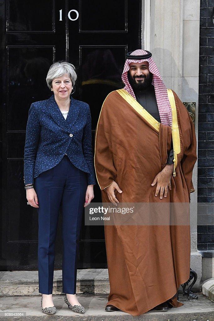 The Crown Prince Of Saudi Arabia Visits The UK : News Photo