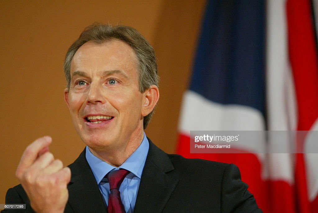 Prime Minister Blair At Foreign Office : News Photo