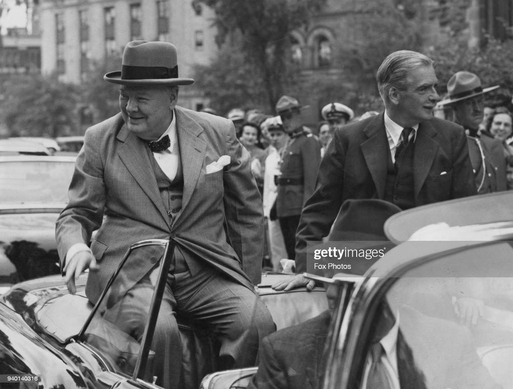 7adddfb0c1b0e British Prime Minister Winston Churchill and Foreign Secretary ...