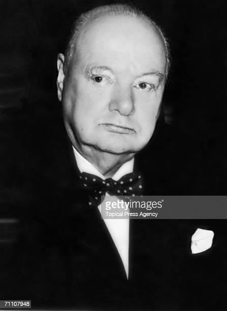 British Prime Minister Winston Churchill November 1953