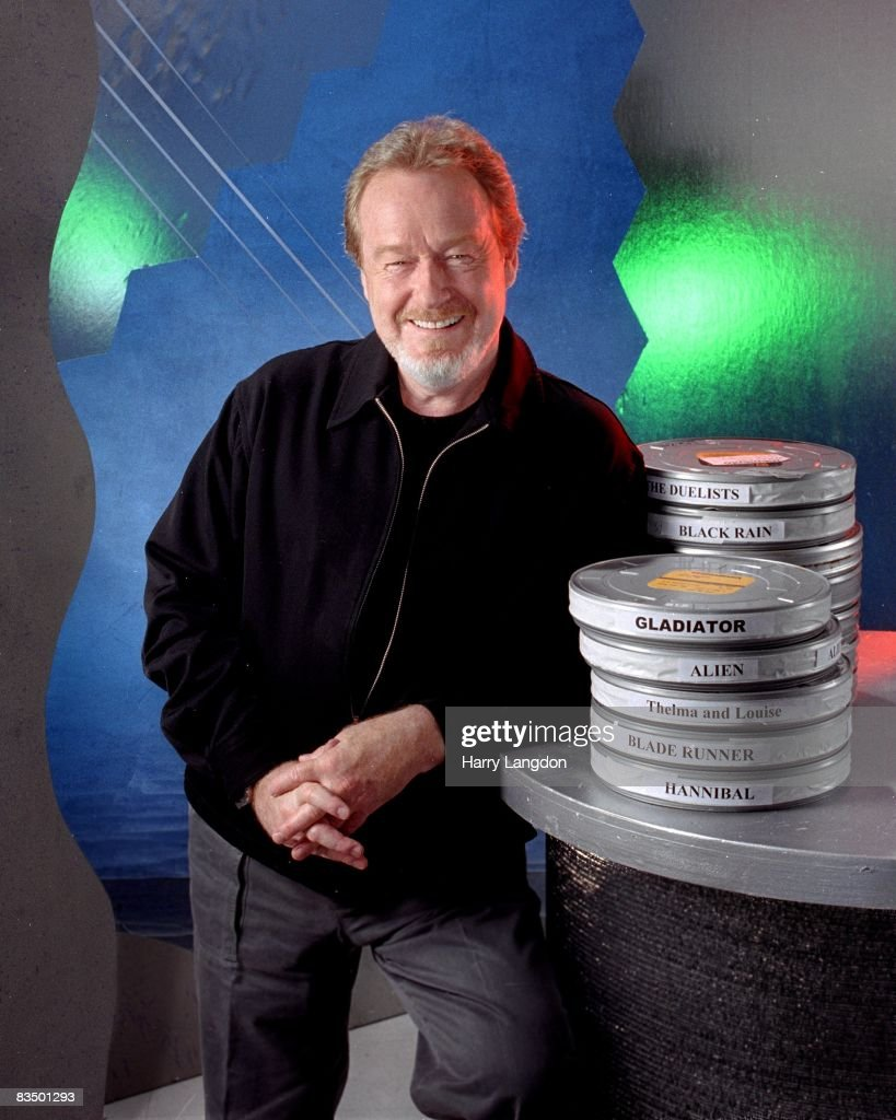 British producer and director Ridley Scott poses for a photo session on June17, 2005 in Los Angeles, California.
