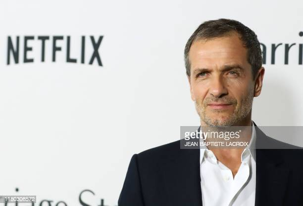 British producer David Heyman attends the premiere of Netflix's Marriage Story in Los Angeles on November 5 2019