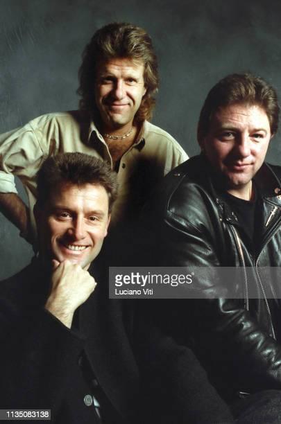 British progressive rock group Emerson, Lake & Palmer , Italy, circa 1990.