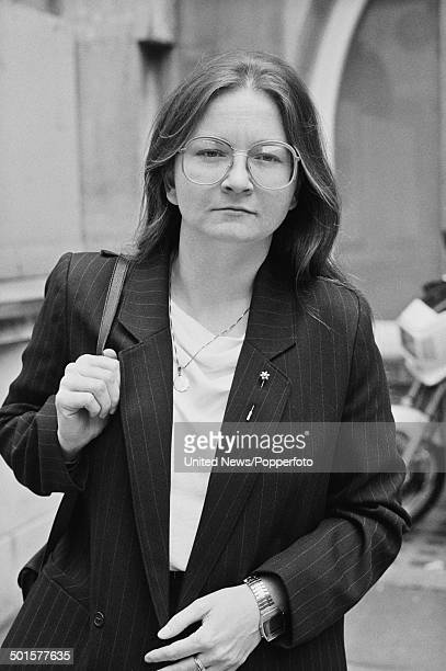 British psychologist Glynis Breakwell posed in London on 24th May 1985