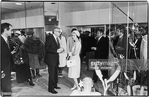 British Queen Elizabeth II shops at Bloomingdale's during her visit to New York New York July 10 1976