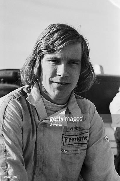 British racecar driver James Hunt.