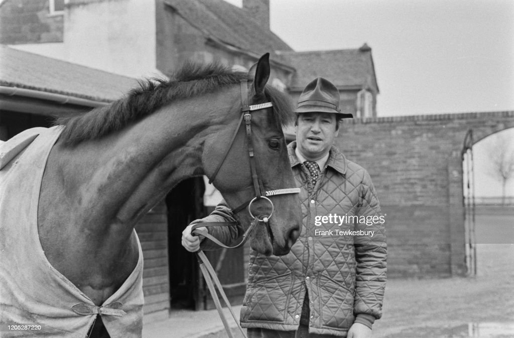 British Racehorse Trainer Michael Oliver : News Photo