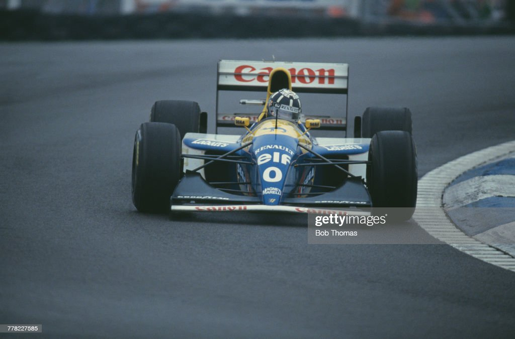 1993 European Grand Prix : News Photo