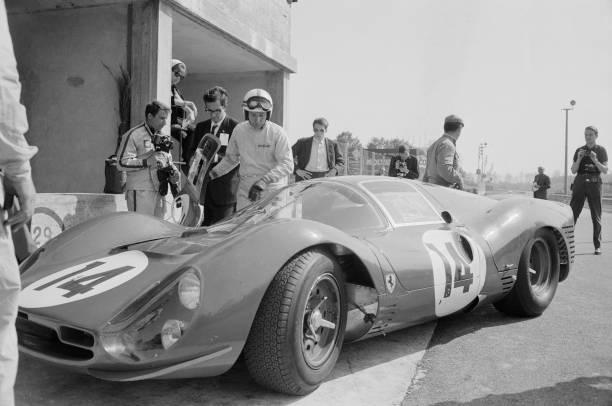 Surtees Tests Ferrari